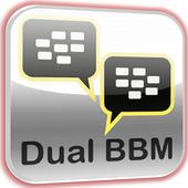 New Dual BBM icon