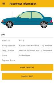 Taxi Cambodia poster