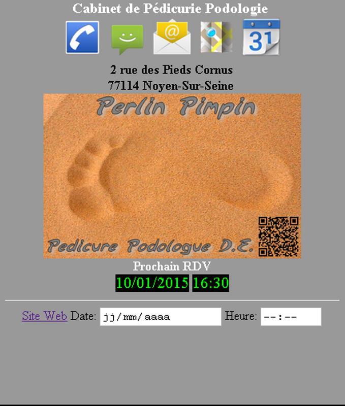 Carte De Visite Perlin Pimpin Poster