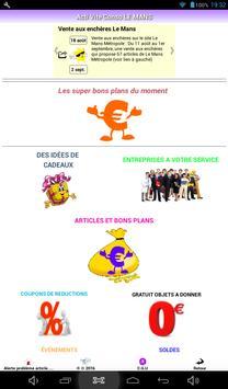 REGION SALES LE MANS poster