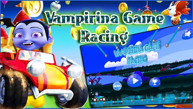 Vampirina Game Racing poster