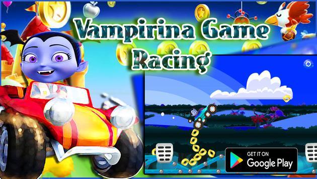 Vampirina Game Racing screenshot 2