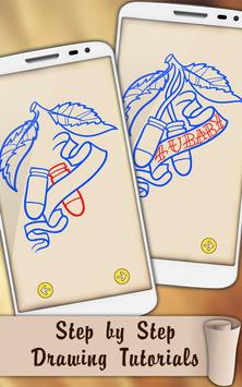 Draw Criminal Tattoos apk screenshot