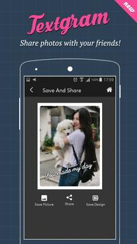 Textgram - text on photos apk screenshot