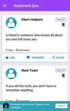 Awesome Quote apk screenshot