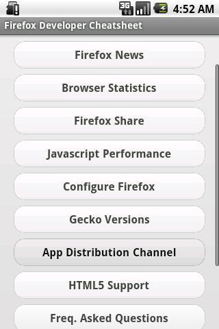 Firefox Developer Cheatsheet for Android - APK Download