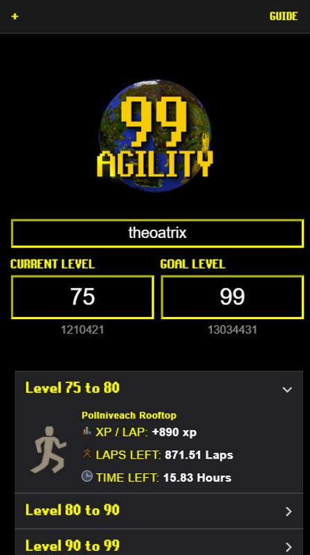 99 Agility For Android