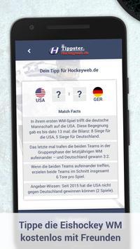 Eishockey WM 2017 Tippspiel poster