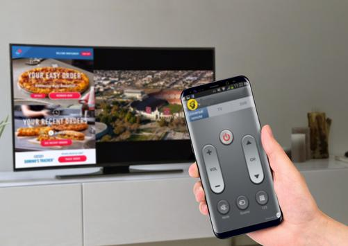 guide for Peel smart remote control poster