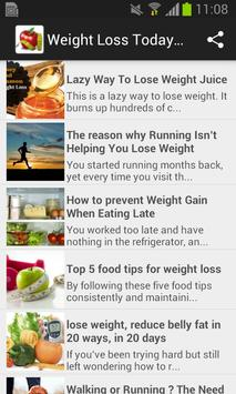 Weight Loss  TodayHealth poster