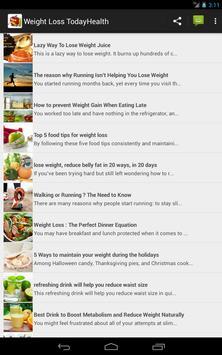 Weight Loss  TodayHealth apk screenshot