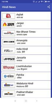Hindi news  (हिंदी समाचार) Hindi Samachar poster