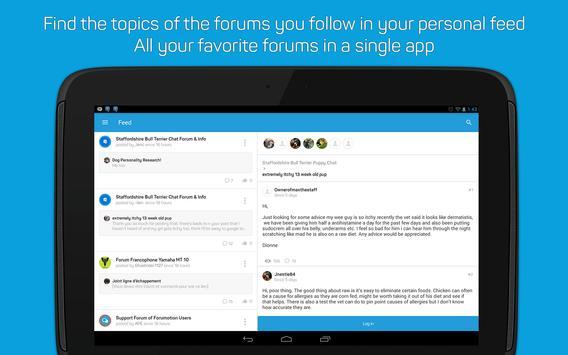 Topic'it - Mobile Forum App apk screenshot