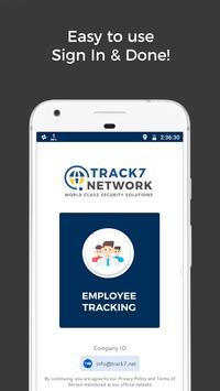 GPS Employee Tracking / Employee Tracker - Track7 poster