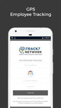 GPS Employee Tracking / Employee Tracker - Track7 screenshot 1