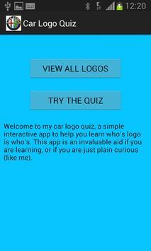 Car Logo Quizzer screenshot 2