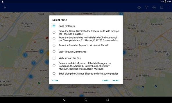 Paris Travel Map Guide In English With Events APK Download - Travel mapping software