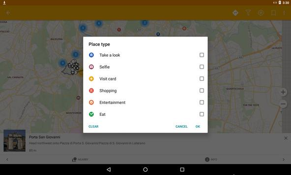 Rome Travel Map Guide in English with Events 2018 screenshot 11
