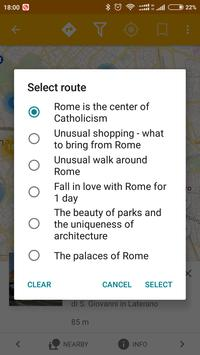 Rome Travel Map Guide in English with Events 2018 screenshot 1