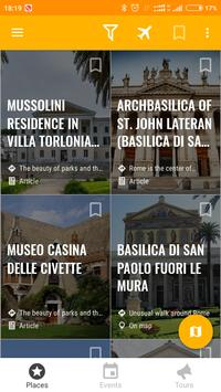 Rome Travel Map Guide in English with Events 2018 screenshot 6