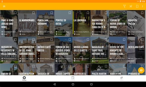 Rome Travel Map Guide in English with Events 2018 screenshot 7
