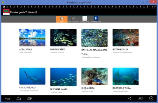 Maldive guida Tristansoft apk screenshot