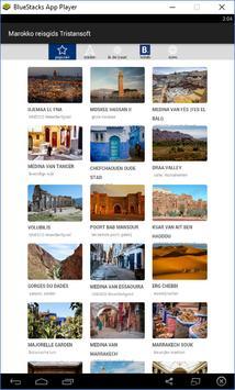 Marokko reisgids Tristansoft poster