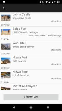 Oman travel guide Tristansoft screenshot 7