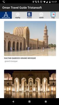 Oman travel guide Tristansoft poster