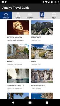 Antalya Travel Guide poster