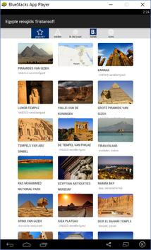 Egypte reisgids Tristansoft poster