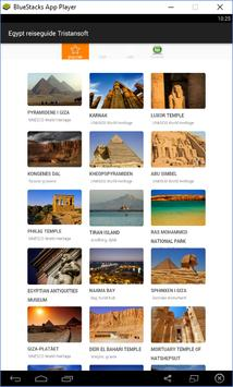 Egypt reiseguide Tristansoft poster