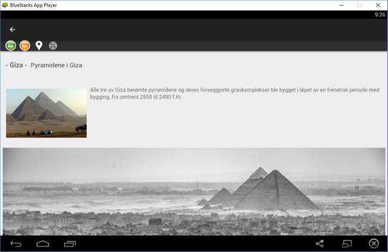 Egypt reiseguide Tristansoft screenshot 4