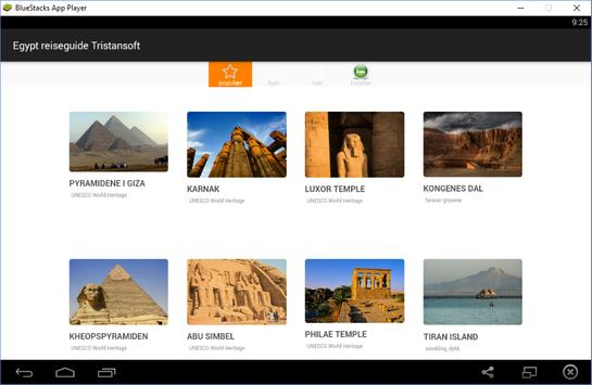Egypt reiseguide Tristansoft screenshot 5