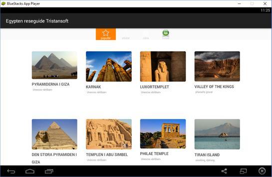 Egypten reseguide Tristansoft apk screenshot