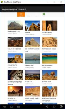 Egypten reseguide Tristansoft poster