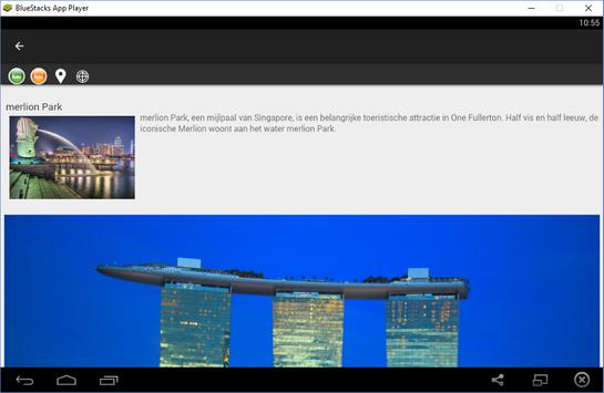 Singapore Reisgids Tristansoft apk screenshot