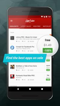 AppSales: Paid Apps Gone Free & On Sale poster