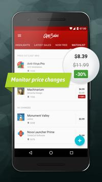 AppSales: Paid Apps Gone Free & On Sale apk screenshot