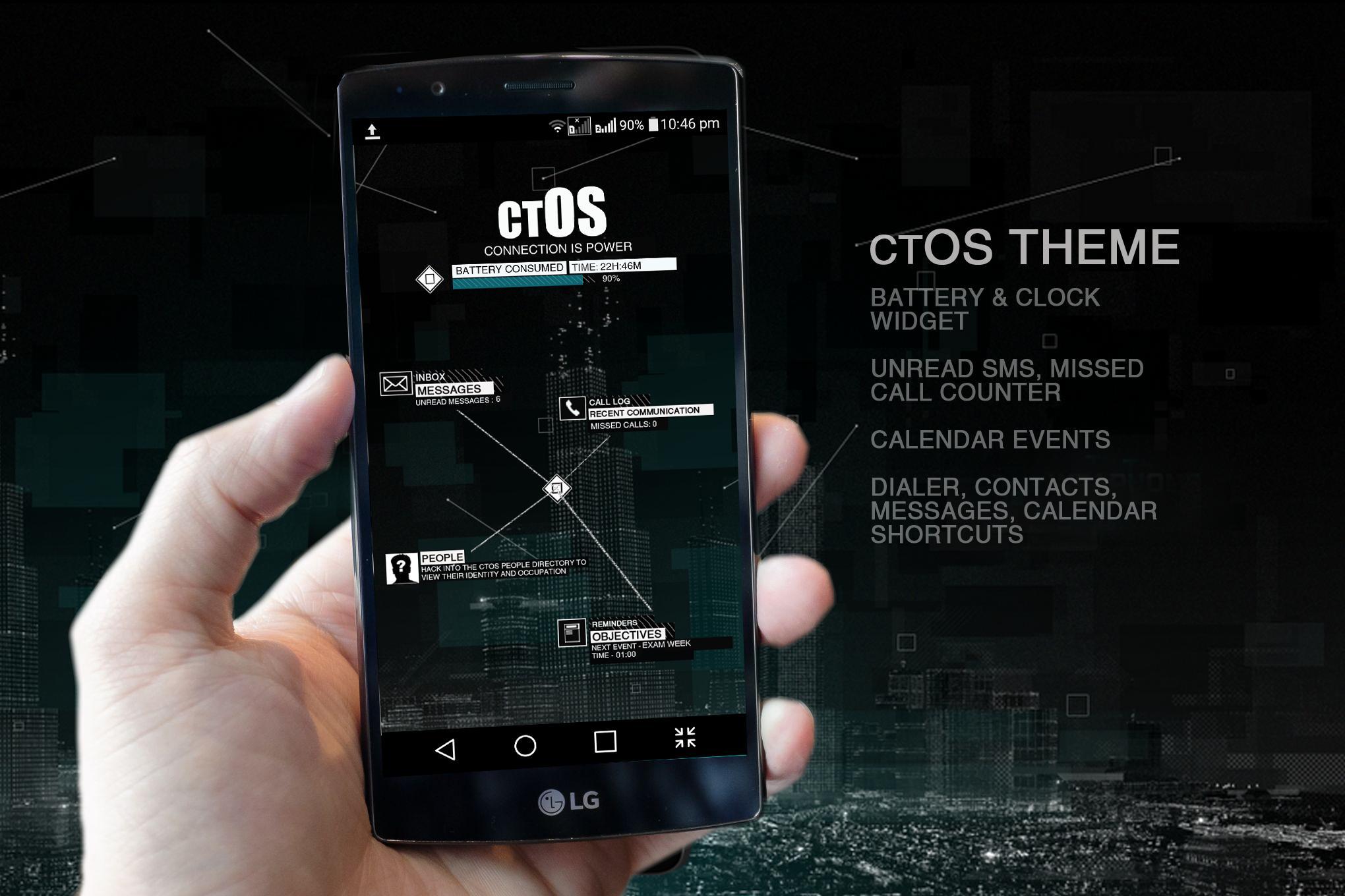 ctOS Widget Free Version para Android - APK Baixar