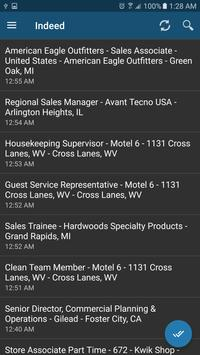 Jobs alerts in United States apk screenshot