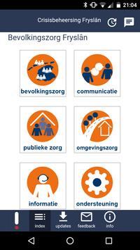 Crisisbeheersing Fryslân apk screenshot