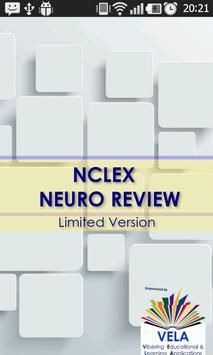 NCLEX Neurologic System Review poster
