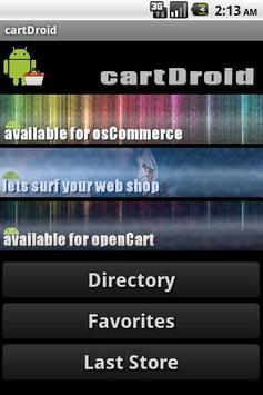 osCommerce openCart Catalog poster
