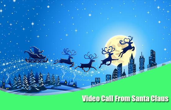 Santa Claus Video calling Free poster