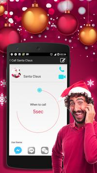 Video calls Santa Claus apk screenshot