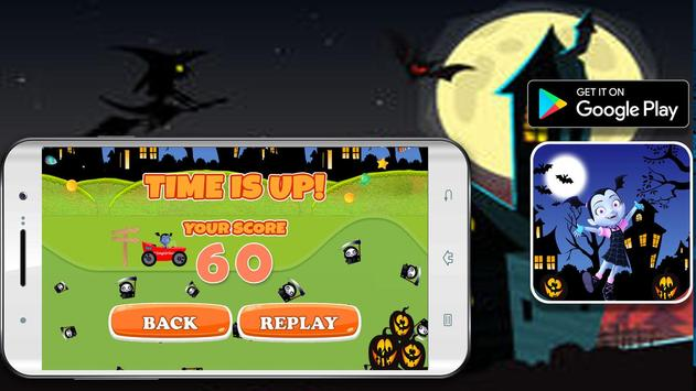 Super Vimpirina Racing Adventure apk screenshot