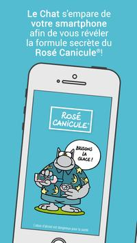 Rosé Canicule poster