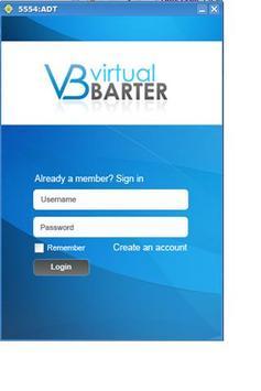 Virtual Barter poster