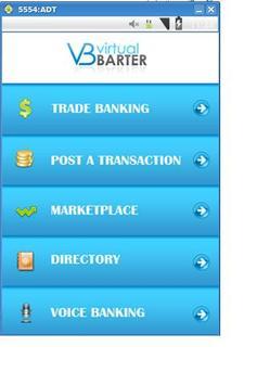 Virtual Barter screenshot 1